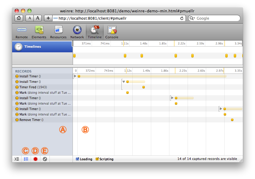 使用 Weinre 调试移动网站及 PhoneGap 应用